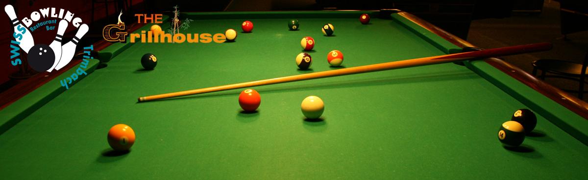 19 Billardtische und 1 Snooker
