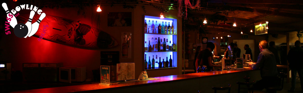 Bar mit coolen Drinks