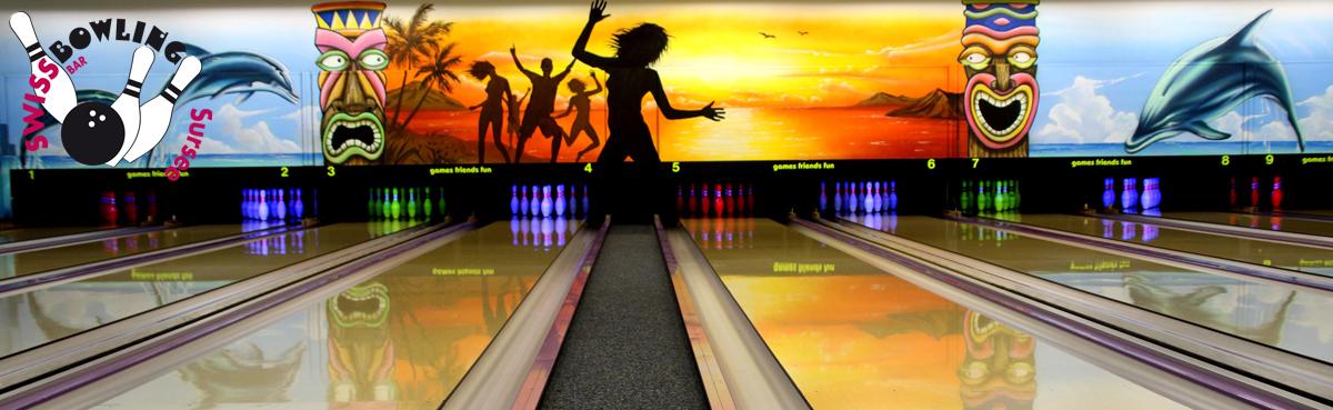 14 Bowlingbahnen