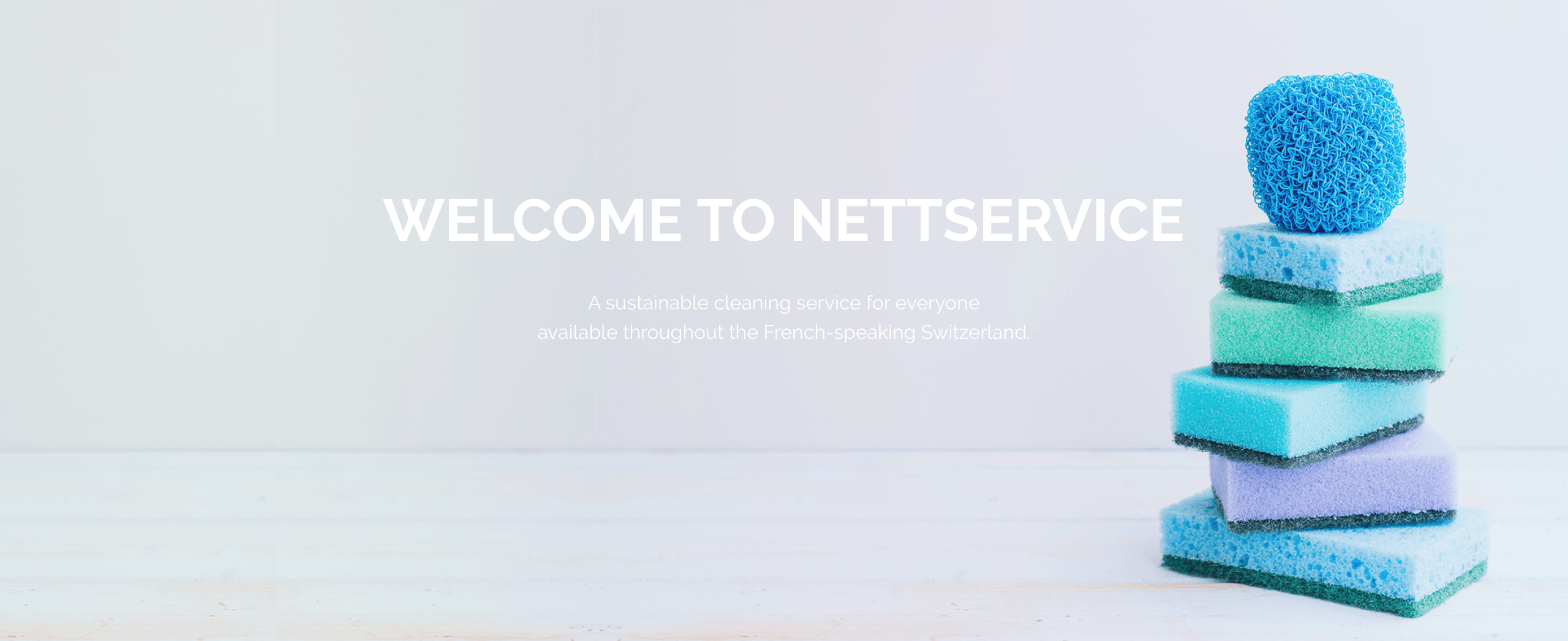 Welcome to NettService, the cleaning service that cares as much about the planet as it does about its customers.