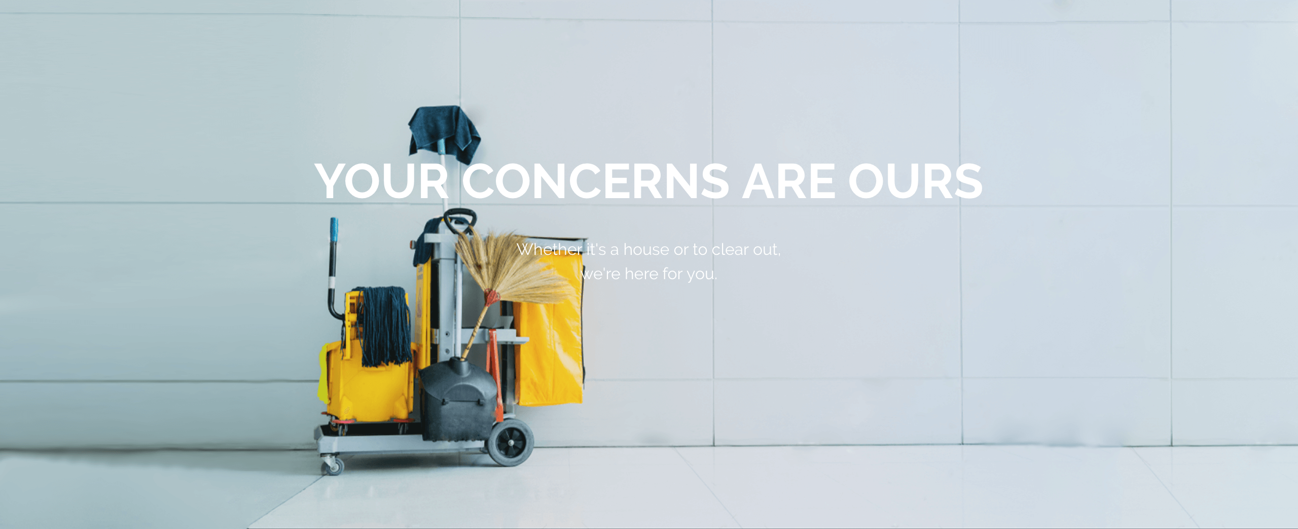 NettService takes care of your problems: house, storage room, premises, offices, building, end of lease, our team intervenes for you and for the planet.