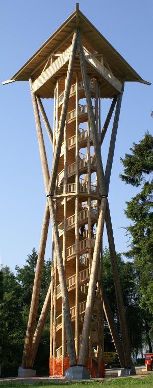 Aussichtsturm Wil - Holzturm
