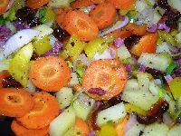 Schritt 2 (mit Gemüse!)