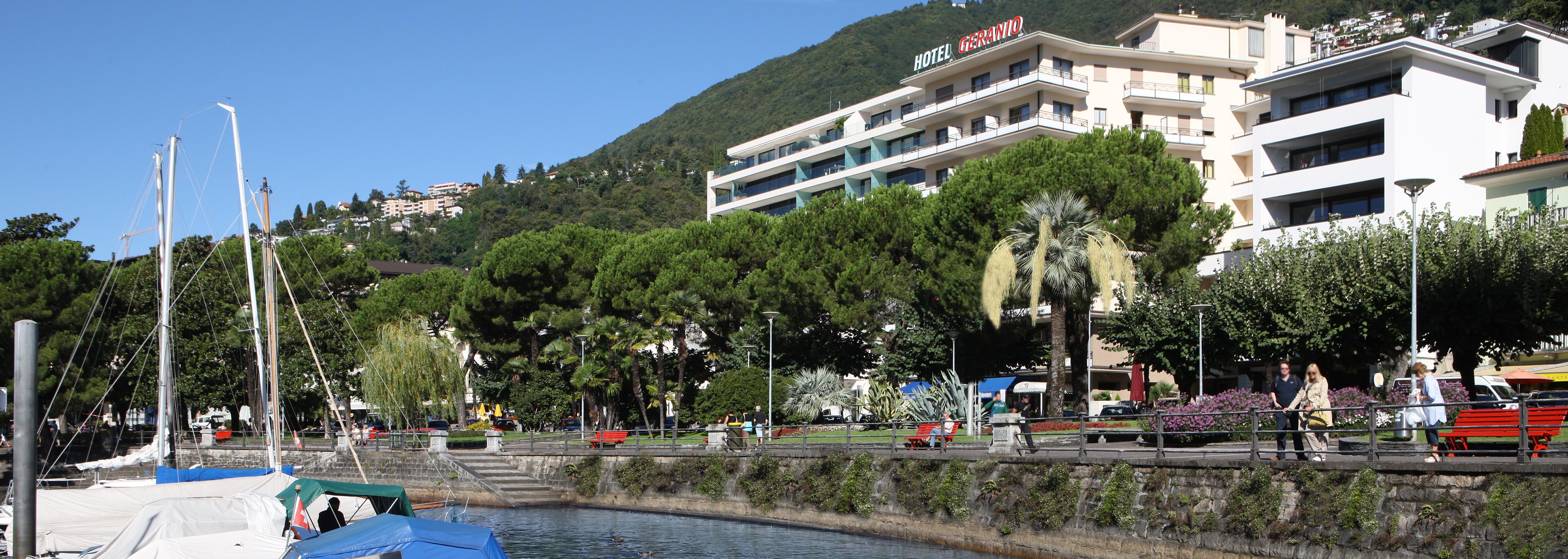 Esterno dell'Hotel Geranio au Lac, Locarno-Muralto