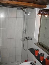 Dusche Zimmer 1