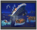 Titanic Disaster / Canvas 50x70cm