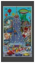 Empire State Building / Glass 3D 31x50cm