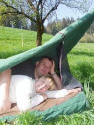 Die besondere, romantische Übernachtung im Doppelswag