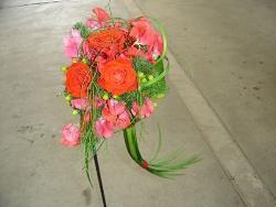 bouquet con coda