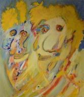 nasenschau  (acryl-leinwand)  70 x  60 cm