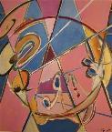 xenometrie I  (acryl - leinwand) 70 x 60 cm