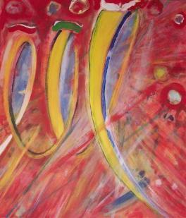 olé  (acryl - leinwand)  80 x 70 cm