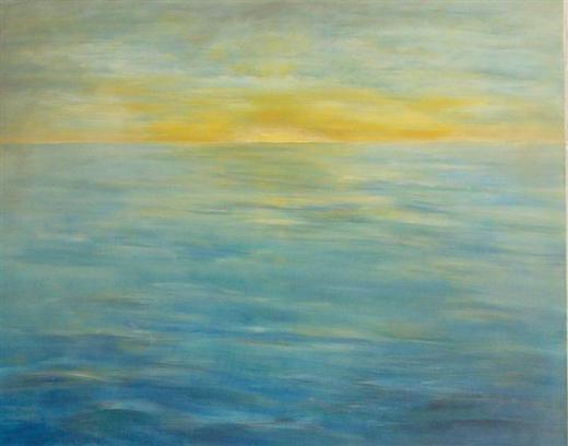 lass dir zeit und schau 1   (acryl - leinwand)  80 x 100 cm