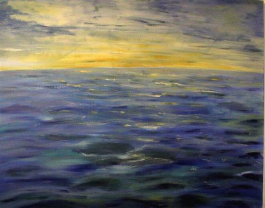 lass dir zeit und schau 2  (acryl - leinwand)  80 x 100 cm